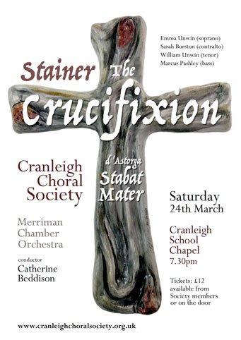 Crucifixion - cranleigh choral society