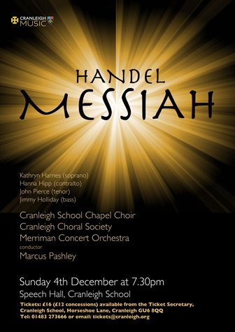 messiah - cranleigh choral society