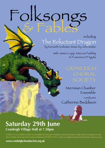 folksongs and fables - cranleigh choral society
