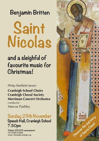 st nicolas - cranleigh choral society