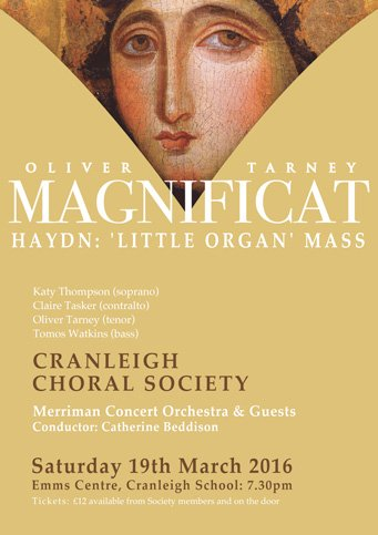 magnificat - cranleigh choral society