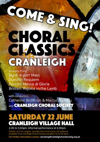 choral classics - cranleigh choral society