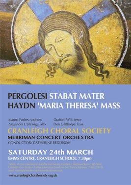 pergolesi - cranleigh choral society