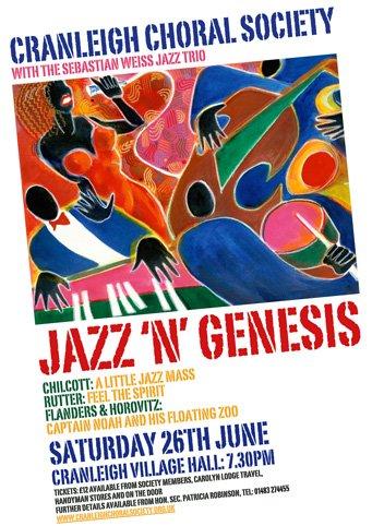 jazz n genesis - cranleigh choral society